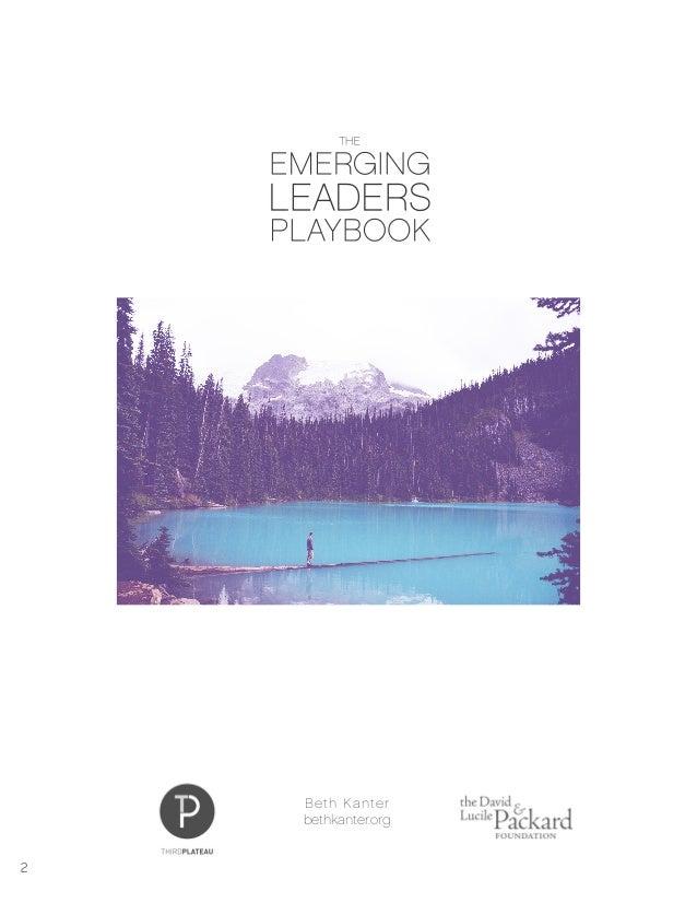 Emerging Leaders Playbook Slide 2