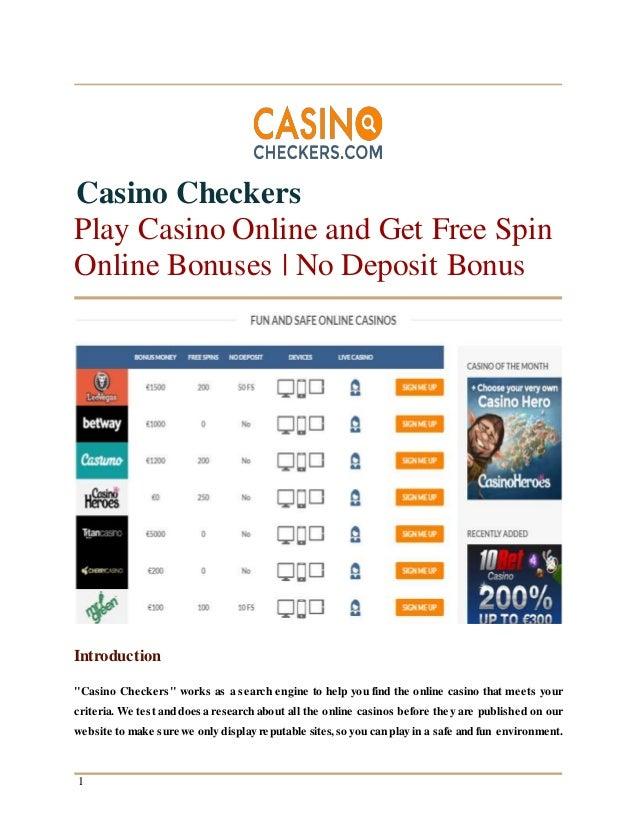casino deposit 1 cent