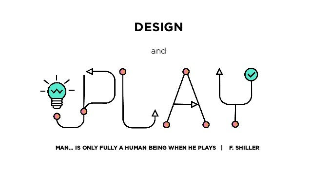 MAN… IS ONLY FULLY A HUMAN BEING WHEN HE PLAYS | F. SHILLER DESIGN and