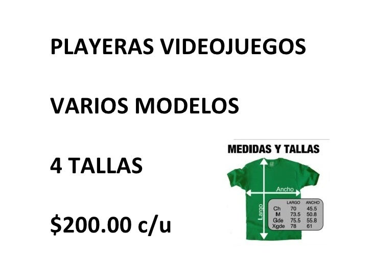PLAYERAS VIDEOJUEGOS VARIOS MODELOS 4 TALLAS $200.00 c/u