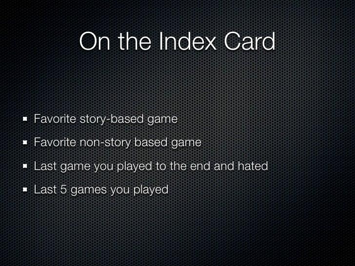Players Journey Slide 2