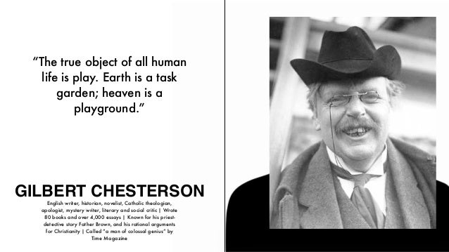 by chesterson essay tk Free kindle book and epub digitized and proofread by project gutenberg.