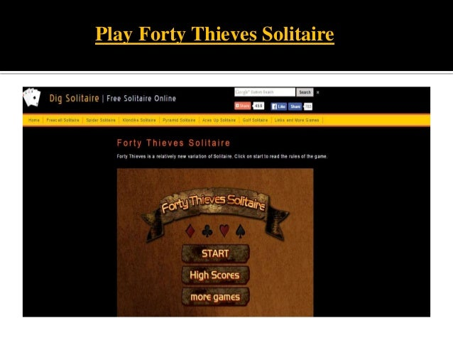 Play 40 Thieves Online