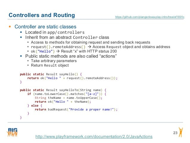 Controllers and Routing 23  Controller are static classes  Located in app/controllers  Inherit from an abstract Control...