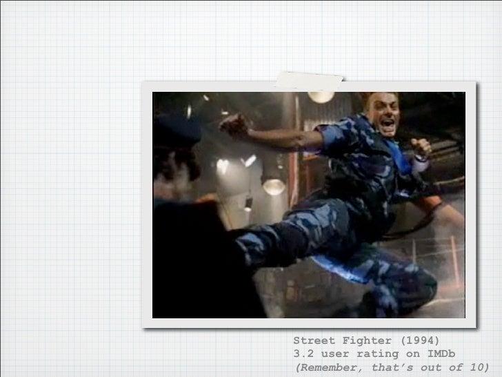 Street Fighter: The Legend of Chun-li (2009) 3.9 user rating on IMDb