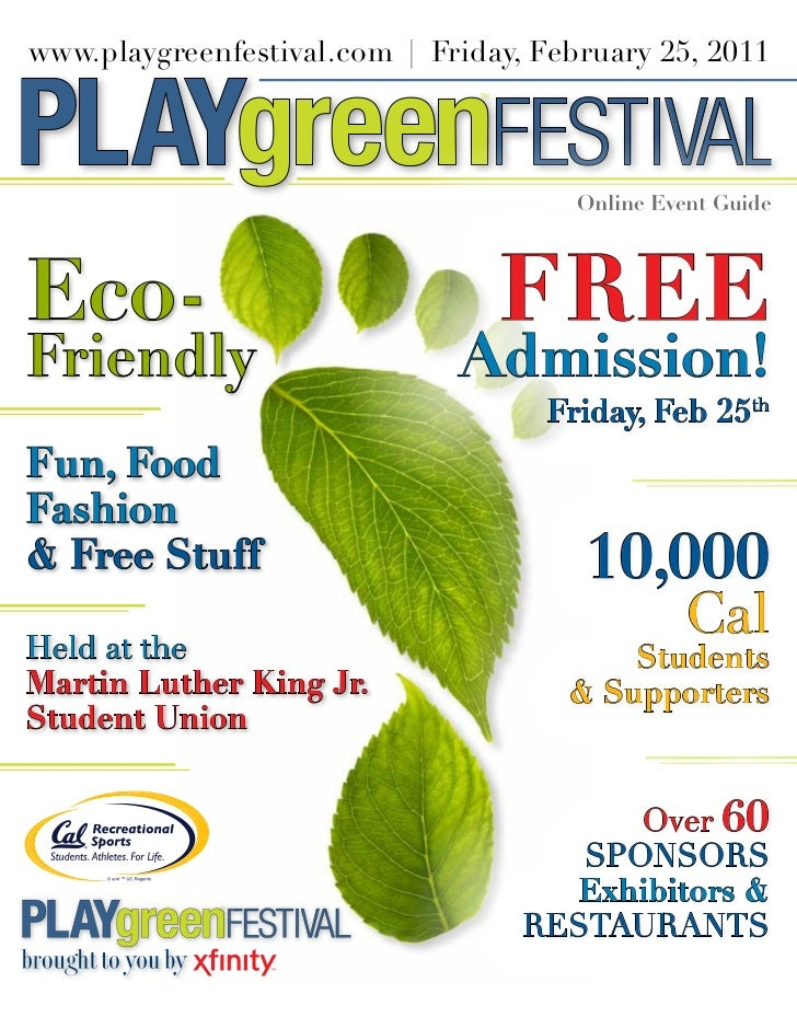 www.playgreenfestival.com | Friday,February25,2011                                  FESTIVAL                         ...