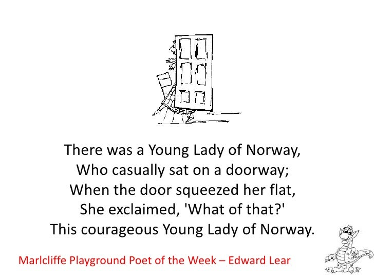 Marlcliffe Playground Poet of the Week – Edward Lear<br />