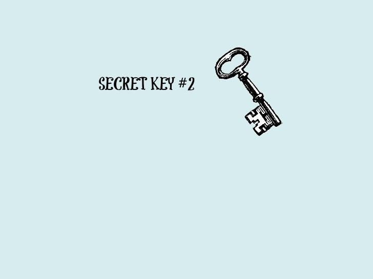 SECRET KEY #3AnalyticalThinkingSkills