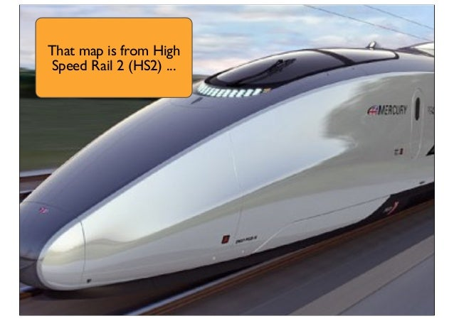 That map is from High Speed Rail 2 (HS2) ...