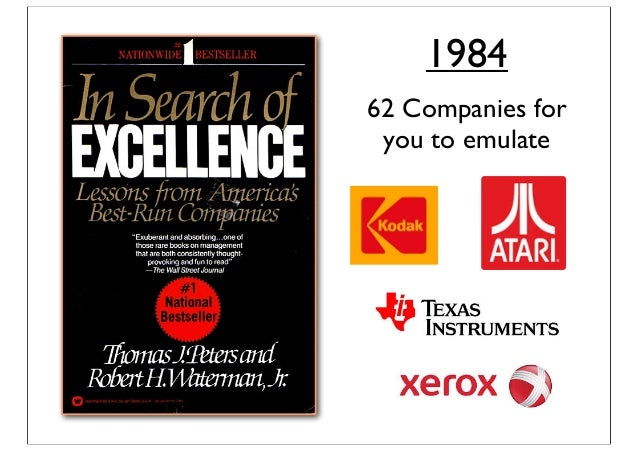 1984 62 Companies for you to emulate