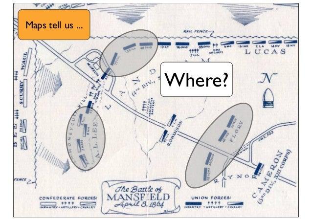 Where? Maps tell us ...