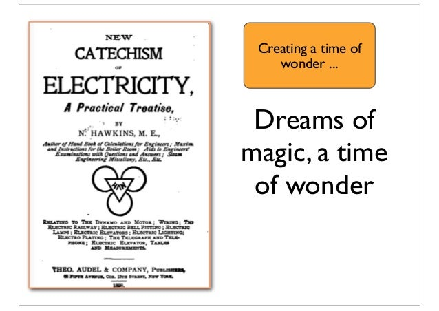 Dreams of magic, a time of wonder Creating a time of wonder ...