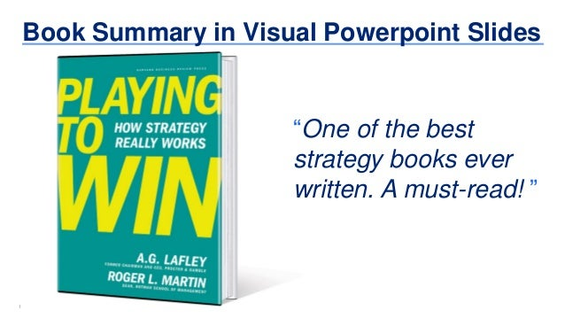 "11 Book Summary in Visual Powerpoint Slides ""One of the best strategy books ever written. A must-read! """