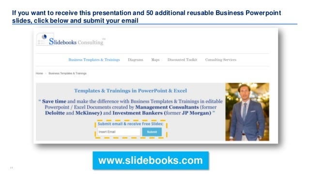 1111 If you want to receive this presentation and 50 additional reusable Business Powerpoint slides, click below and submi...