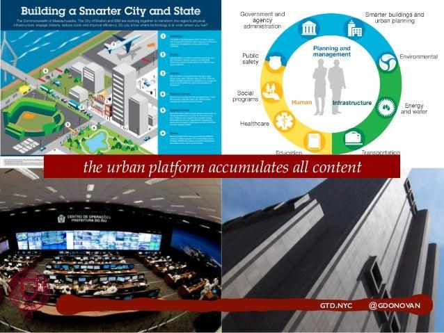 GTD.NYC @GDONOVAN the urban platform accumulates all content