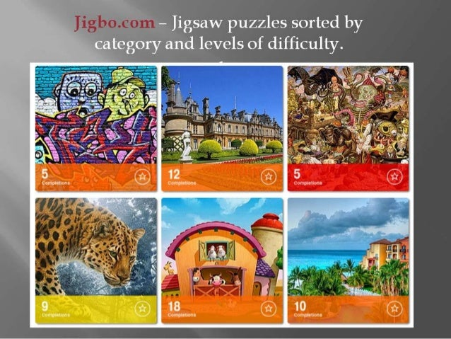 play jigsaw puzzles online at jigbo
