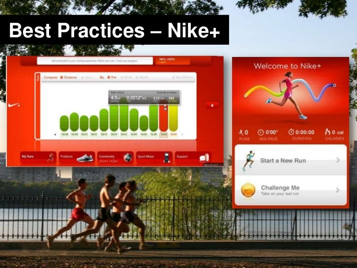 Best Practices – Nike+<br />