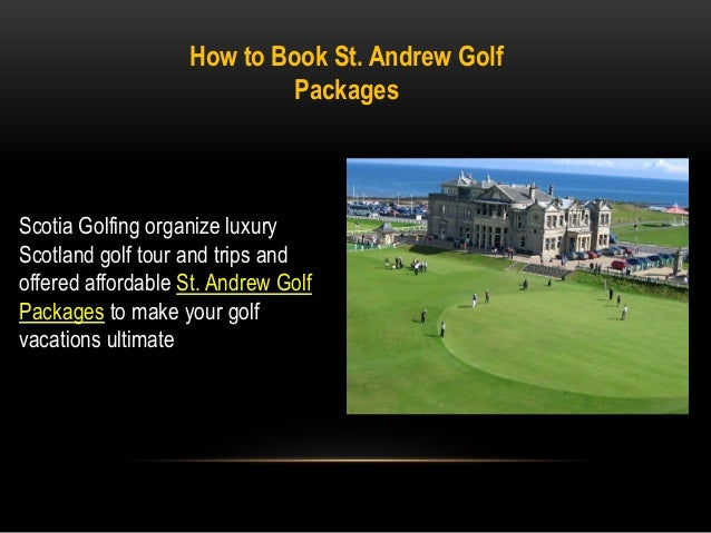 how to play st andrews