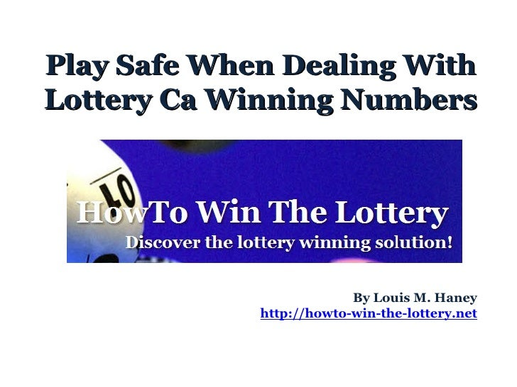 how to win the lottery ontario