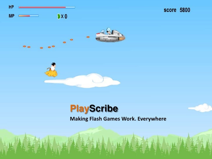 PlayScribe<br />Making Flash Games Work. Everywhere<br />