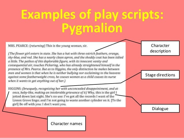 play scripts teacher as writer