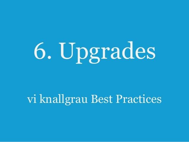 6. Upgrades Lösungsansätze 47