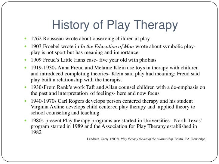 axlines principles Trilogy attachment and loss (1969-1980) and two works by virginia axline: play   axline's central principles of non-directive play therapy are listed in her.