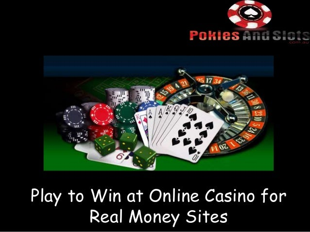 Online gambling sites real money free money from gambling sites