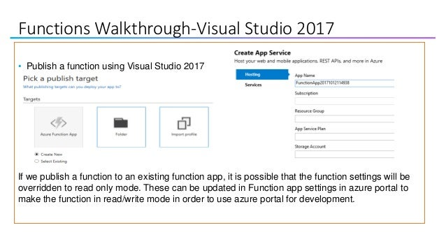 Play with azure functions
