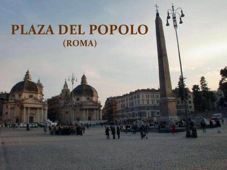 PLAZA DEL POPOLO (ROMA)