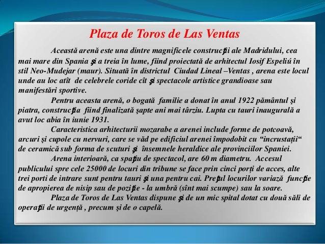 Plaza de toros.Ventas Madrid  (Averio pps) Slide 2