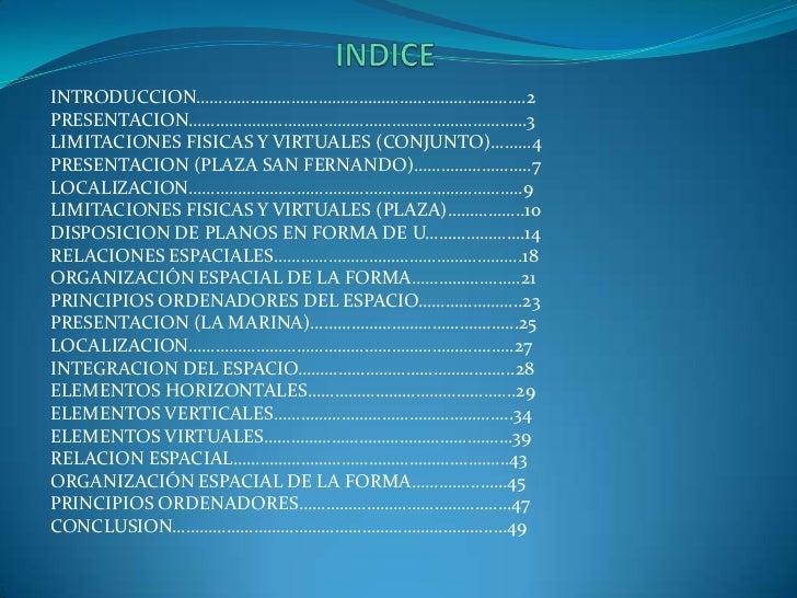 INDICE<br />INTRODUCCION……………………………………………………………….2<br />PRESENTACION…………………………………………………………………3<br />LIMITACIONES FISICAS Y...