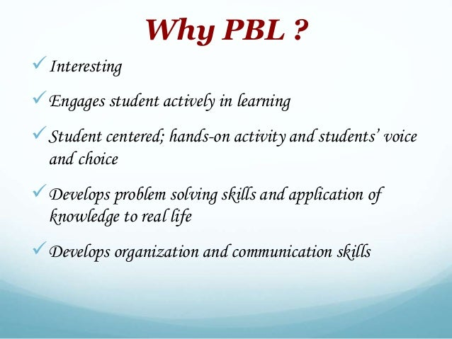 pbl task 1 Project learning, also known as project-based learning, is a dynamic approach   in part 1, mr mattice and the designers from the third teacher plus figure out.