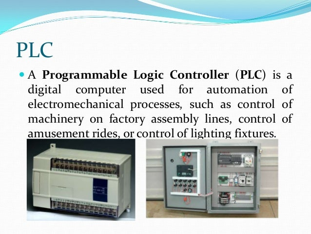 Programmable logic controller block diagram