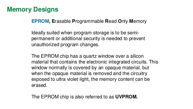 Specifications  MEMORY CAPACITY  The amount of memory required for a particular application is related to the length of th...