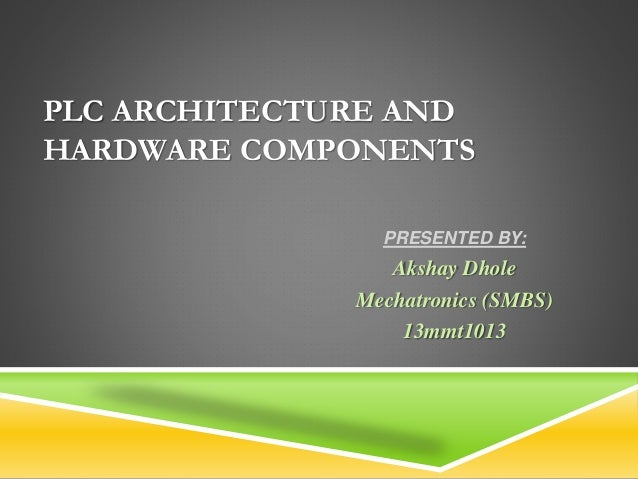 Plc (programmable logic controllers) rtd and cnc ppt powerpoint pres….