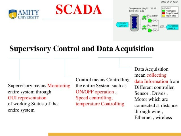 Data Acquisition And Control : Plc and scada project ppt