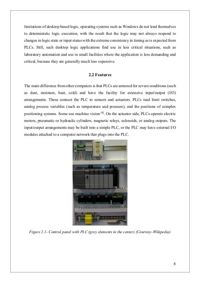 Plc Based Home Automation Undergrad Thesis