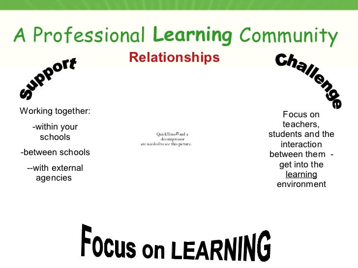essay on learning communities What is a professional learning community (plc) the very essence of a learning community is a focus on and a commitment to the learning of each student when a school or district functions.
