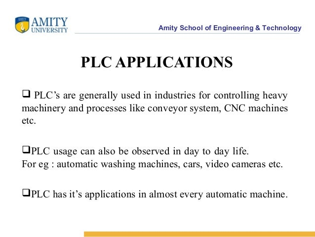Application of plc ppt