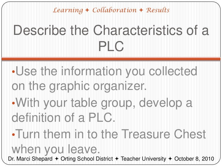 Collaborative Teaching Definition ~ Introduction to plcs
