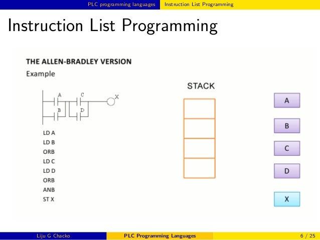 Ladder Logic Plc Programming