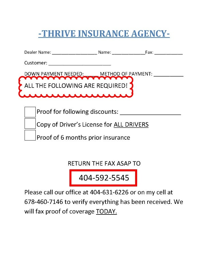 THIS IS NOT PROOF OF INSURANCE                          THIS IS NOT PROOF OF INSURANCE  APPLICANT QUESTIONNAIRE -- TO BE C...