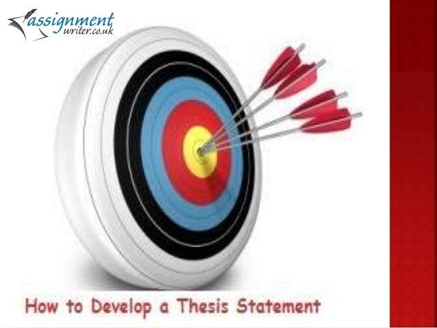 thesis statement development exercises