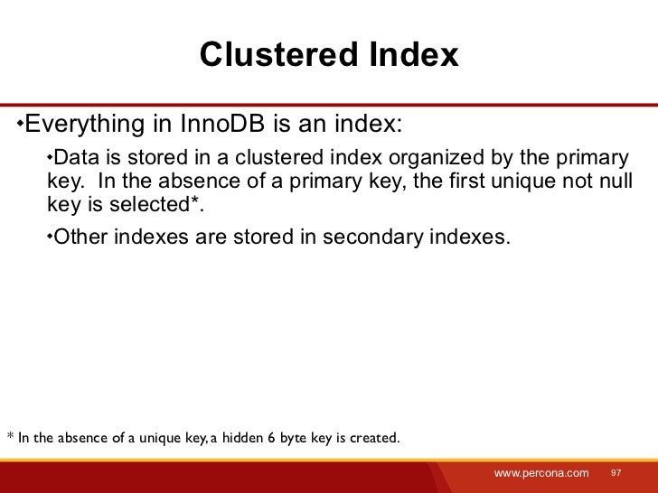 Percona Live 2012PPT: MySQL Query optimization slideshare - 웹