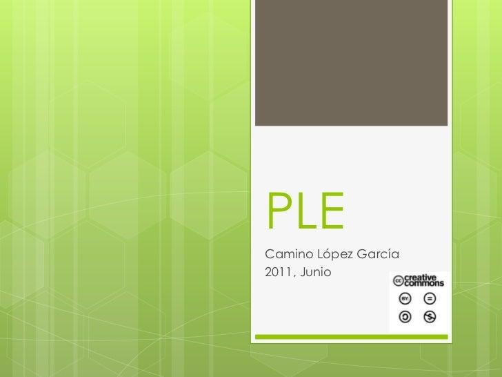 PLE<br />Camino López García<br />2011, Junio<br />