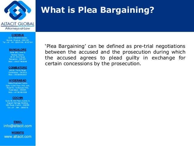 Plea bargaining in India Slide 2