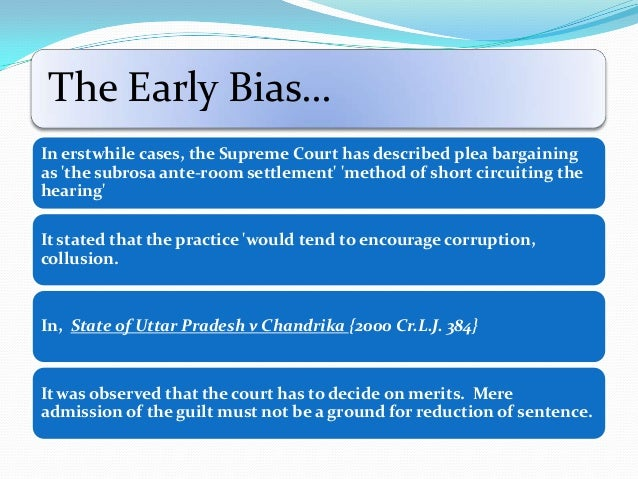 the fairness of plea bargaining Plea bargaining - download as word doc (doc / docx), pdf file (pdf), text file (txt) or read online plea bargaining in us and india.
