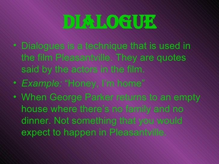 """Movie """"Pleasantville"""" Essay Sample"""