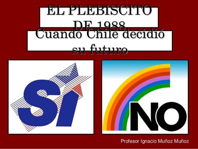 Resultado de imagen para foto de plebiscito en chile